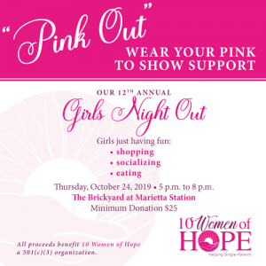 10 Women of Hope Girls Night Out 2019