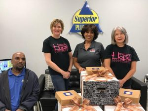 Supierior Plumbing Partners With 10 Women of Hope to provide thanksgiving meals