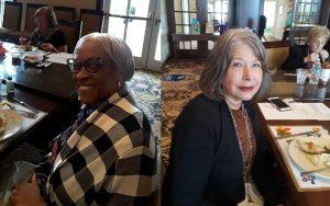 Penny and Lamuriel Speak at ABWA